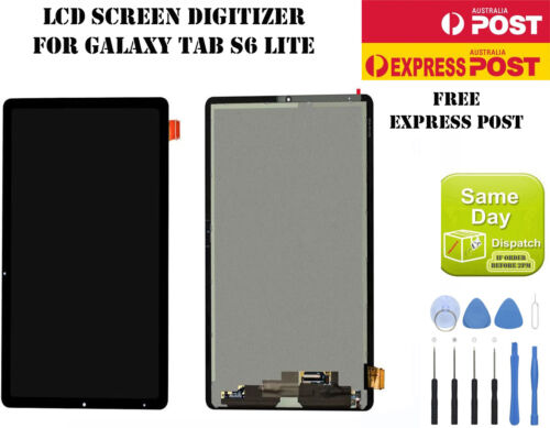 "SAMSUNG GALAXY TAB S6 LITE 10.4"" SM-P610 P615 LCD DISPLAY+TOUCH SCREEN DIGITIZER"