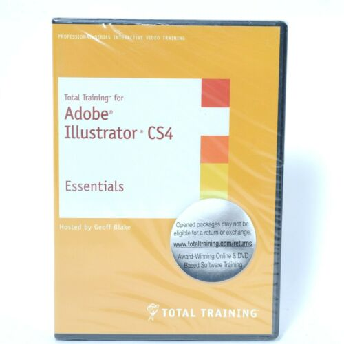 Total Training - Adobe Illustrator CS4 DVD Video Training Essentials - Brand New