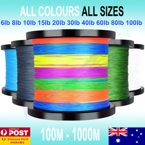 Multi Braid Fishing Line Spectra 6 10lb 15 20 30 50 80lb 150m 300m 500m 1000m <br/> ALL COLOURS IN STOCK! UP TO 25% OFF! SAME DAY SHIPPING!
