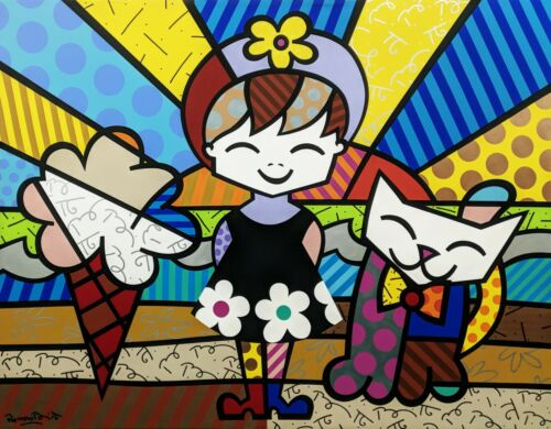 """ROMERO BRITTO """"BRIANNA"""" 1999 