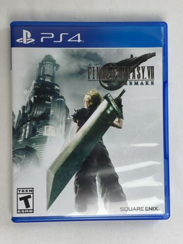 Final Fantasy VII  FF7 Game Factory Sealed PS4  **SAME DAY (24hrs) SHIPPING**