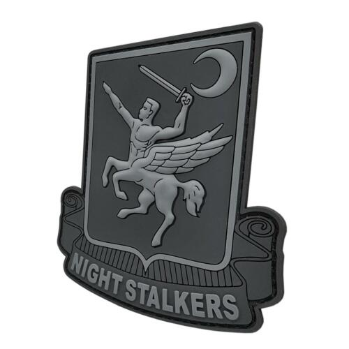 Night Stalkers PVC blackout Operation Red Wings 160th emblema fastener patchParches - 4725