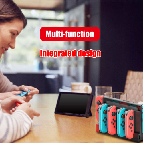 Switch Joy-Con Port Controller Grip Charger Charging Dock Stand