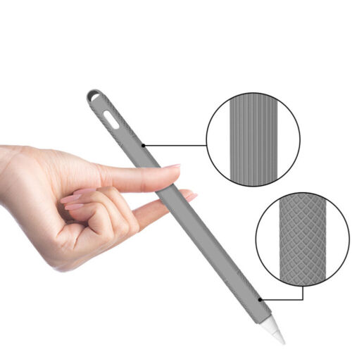 Shockproof Dust Cover Silicone Case Protective Cover Grips for Apple Pencil 2
