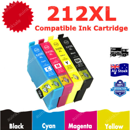 Compatible 212 XL 212XL Ink For Epson WF2830 WF2850 XP 2100 XP3100 XP3105 XP4100