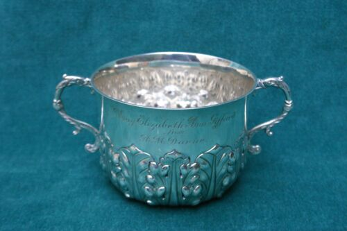 Garrard & Co. English Sterling Silver Two Handled Bowl Circa 1922    MAGNIFICENT