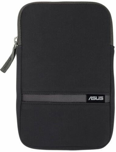 "GENUINE ASUS 7"" Tablet Zippered Waterproof BLACK Cover Case Pouch Zip Sleeve NEW"