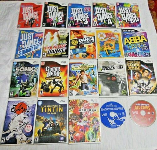 Wii games....TESTED AND WORKS....