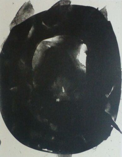 """ROBERT MOTHERWELL """"Nocturn V""""  LITHOGRAPH Three Poems by Octavo Paz Lim.Ed.750"""
