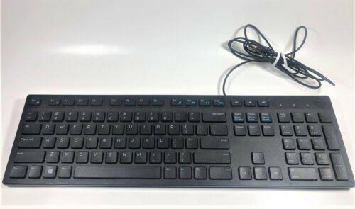 Dell KB216-BK-US Wired Keyboard Standard - Black USB 06WMN0