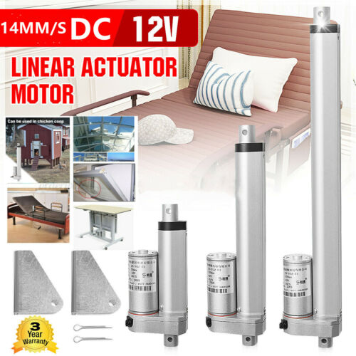"""2""""-18"""" in Linear Actuator 12V Electric Motor 1000N 14mm/s Sturdy Lifting Table"""