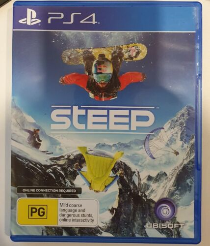 Steep PS4 Playstation 4 Ubisoft Very Good Condition Works Perfectly