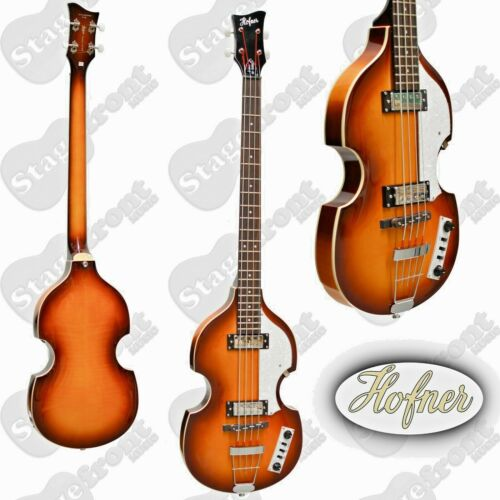 HOFNER BEATLE BASS ELECTRIC HOLLOW BODY IGNITION SERIES SUNBURST