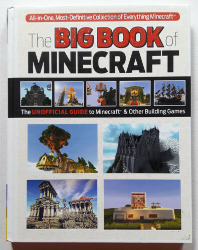 The Big Book of Minecraft TIPS TECHNIQUES STRATEGY GUIDE HARDCOVER BOOK