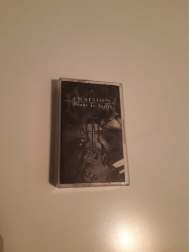 """INSISION (Swe) """"Meant to suffer"""" original demo mc (self released, 1998) NM cond."""