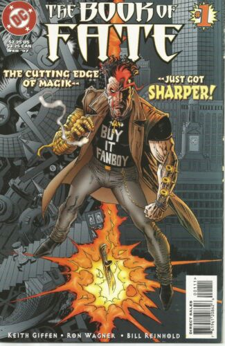 Book of Fate #1 by Keith Giffen & Ron Wagner (DC, 1997)