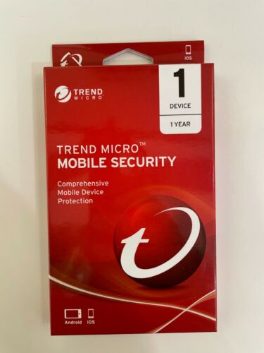 Trend Micro Mobile Security 1 Device 1 Year
