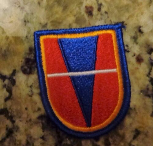 Airborne beret flash patch c//e US Army 738th Engineer Support Co
