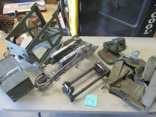 Used MK93 Soft Mount Package, Adapters & Can Holders, for HMMWV etcOther Military Surplus - 588