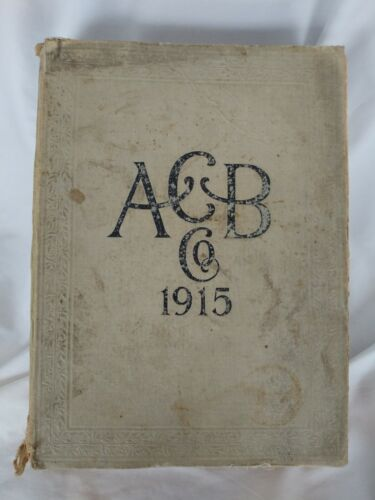 Antique 1915 A. C. Becken Company Wholesale Jewelers Catalogue