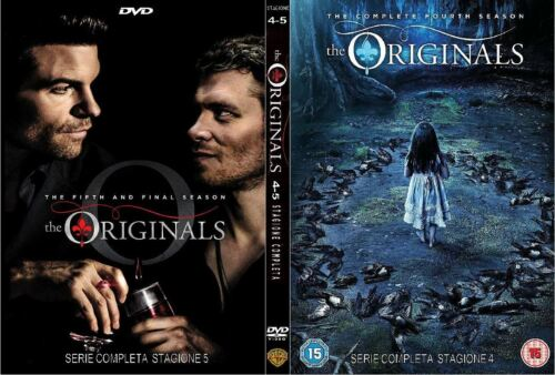 THE ORIGINALS Stagione 4 e 5 ,serie complete DVD ITA: regalo con acq. cartolina