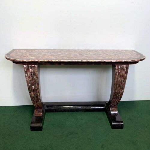 Marble Art Deco Console Table #7989