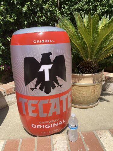 New Tecate Cerveza Can Inflatable Beer Bar Party Pool Blow Up Party Sign