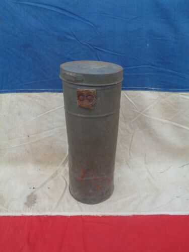 WWII TC 1938 French Gas Mask Cannister.1939 - 1945 (WWII) - 13977