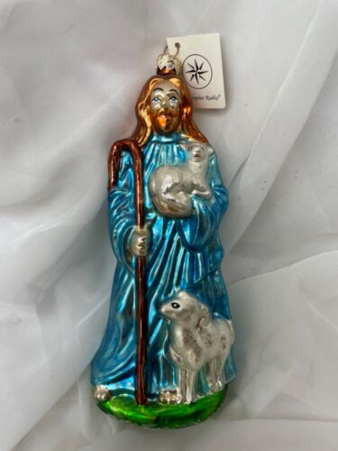 Christopher Radko EASTER Jesus The Lord is My Shepard Ornament 1999