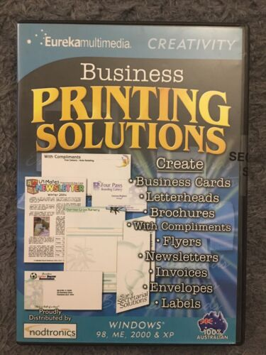 Business Printing Solutions - PC CD-ROM
