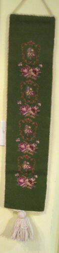 Knit Wall hanging - Victorian Design