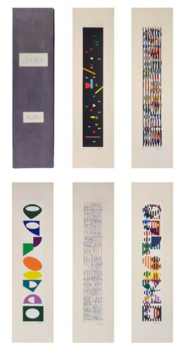 """YAACOV AGAM """"TIME CHANGE"""" 1980 