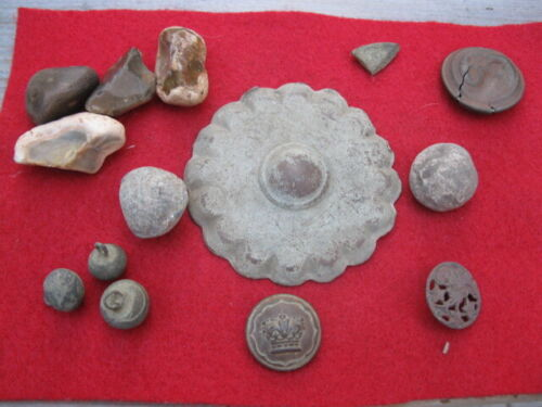 DETECTING FINDS REVOLUTIONARY WAR  COLONIAL ONWARDS RELICSOriginal Period Items - 10951