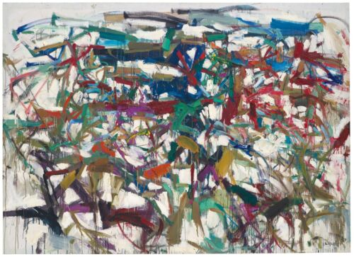 """JOAN MITCHELL 'Ladybug', 1957 Abstract Expressionist Art Poster 27"""" x 33"""" *NEW*"""