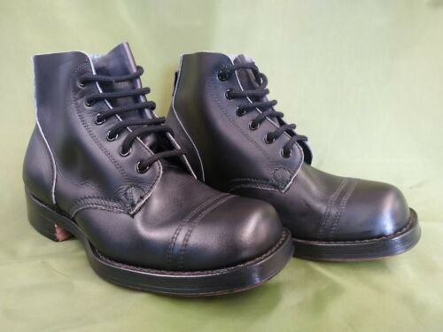 Australian Army Drill / Parade Boots Dated 1978 Size 7 - Leather Sole - NOS