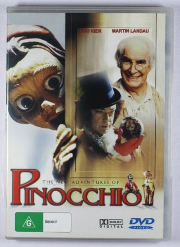 The New Adventures Of Pinocchio DVD FREE POST