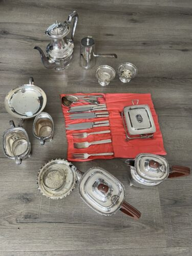 Antique Silverware Hardy Bros and Walker & Hall