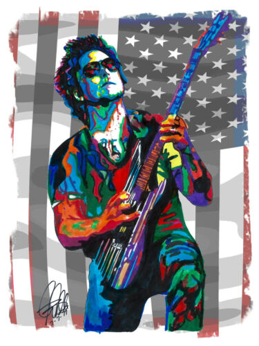 Synyster Gates Avenged Sevenfold Metal Music Print Poster Wall Art 8.5x11