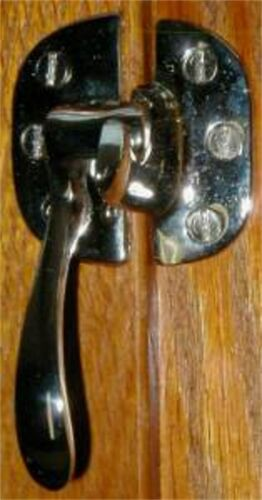 Left Hand Ice Box Latch - Nickel Plated  N2006