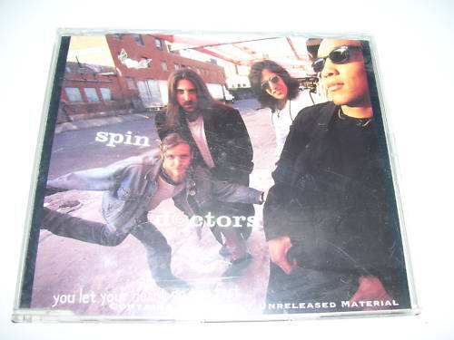 SPIN DOCTORS - YOU LET YOUR HART GO FAST Maxi cd 1994