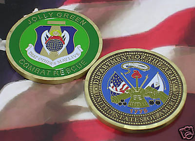 UNITED STATES AIR FORCE JOLLY GREEN COMBAT RESCUE ARMYArmy - 66529