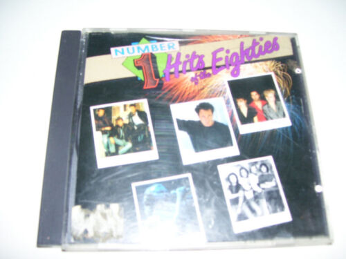 Number 1 Hits of the Eighties RARE CANADA CD 1988