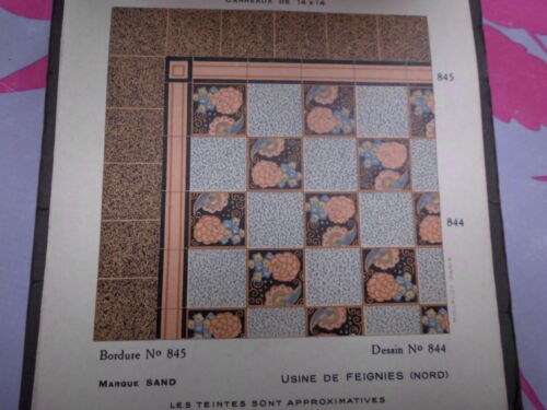 TILES ANTIc french  <br/> carrelage ancien