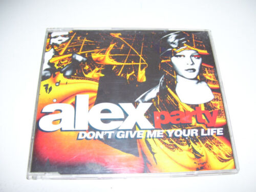 ALEX PARTY - DON'T GIVE ME YOU LIFE 9tr. CD MAXI 1994