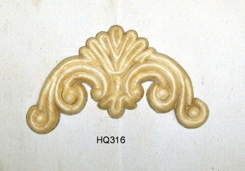 "WOOD EMBOSSED APPLIQUE 2 1/2 ""H X 5""W         HQ316"