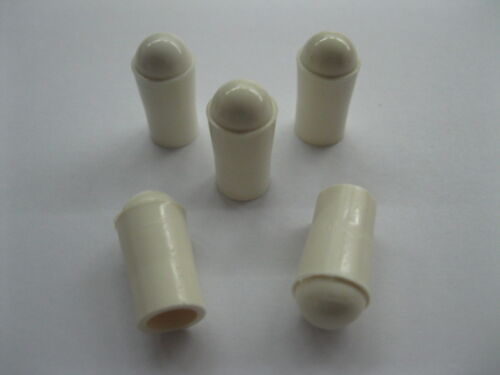Top Holiday Gifts 5 White Premium Rubber Pinball Machine Ball Plunger Shooter Tips FREE SHIPPING