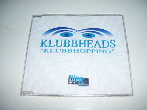 KLUBBHEADS - KLUBBHOPPING * 4 track CD MAXI HOLLAND 1995 *
