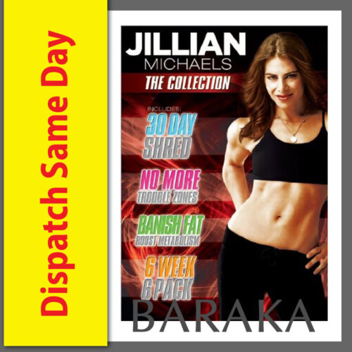 Jillian Michaels: The Collection DVD Box Set (30 Day Shred/Six Week 6 Pack more)