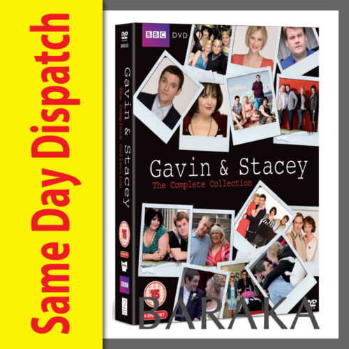 Gavin And Stacey Season Series 1, 2, 3 & 2008 Christmas Special DVD R4 New
