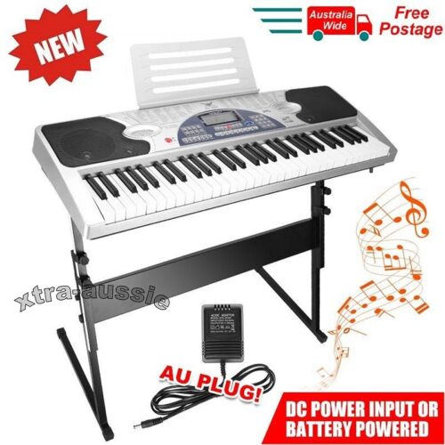 Piano Combo Stand + 61 Keys Electronic keyboard/Electric Piano/Power Adaptor <br/> BRAND NEW - TOP SYDNEY SELLER - SHIP FROM SYDNEY